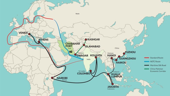 Chabahar Port Effects on India, Iran, Afghanistan and Pakistan