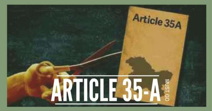 Article 35A of the Constitution of India Jammu and Kashmir