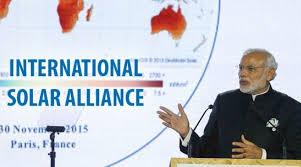 International Solar Alliance must read for UPSC 2019