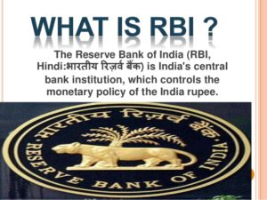Banking Awareness Notes : Reserve Bank of India ( RBI )